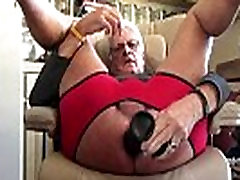 Fucking My Asshole With 7 inch long 8 inch around Black Dildo.MOV