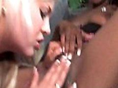 Ebony Lesbian Teen Fuck Her Friend Anally With Strapon Dildo 05