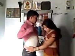 India Naine ja Mees on Romantiline Meeleolu