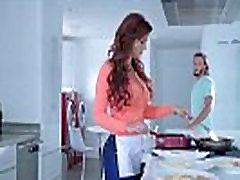 Syren De Mer Hot Big Melon Tits Milf Enjoy Hardcore Bang video-28