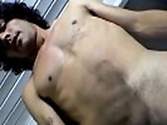 Young delivery boy ends up having gay sex video and self anal sex
