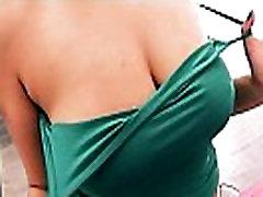 Huge Natural Tits Teen Wearing Tight Denim Shorts. Deep Cameltoe!