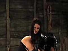 Lesbian Slave Licking Mistresses Pussy To Reach Intense Orgasm