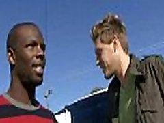 Blacks On Boys - Gay Hardcore Interracial Bareback Sex Video 13