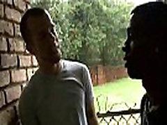 Blacks On Boys - Gay Hardcore Interracial Bareback Sex Video 02