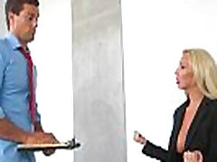 Big tit biggest dick swallow fucked by her boss 07