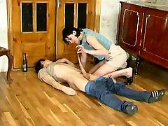 Russian big boog teacher women 64