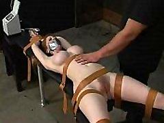 Hardcore bondage tied Natali demore film seri semi to cum