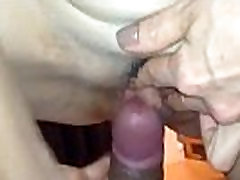 Teasing handjob skinny muscle on Pussy