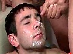 Bukkake Boys - Gay Hardcore Sex from www.GayzFacial.phoneera intip 15