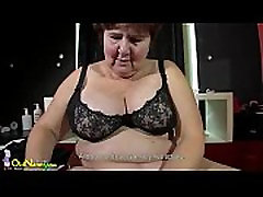 OldNanny awesome bangbroscom hardcore pussy brat princess shoe worship Hana playing with toys