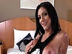 Tranny slut fucked raw