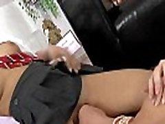 Older heeled brit licked
