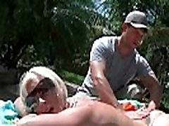 Busty milf bounced her big natural boobs 17