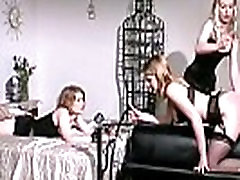 Mistress spanks her young slave