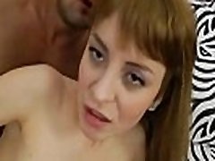 Gaping ass redhead gets buttfucked