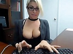Secretary older guy jerk off masturbate at work FreeCamGirls.Club