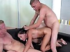 Dude assists with hymen check-up and poking of virgin cutie