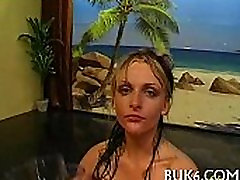 Oral-service with pissing shower