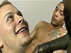 Blacks On Boys - Gay Hardcore Interracial Bareback Fuck 11