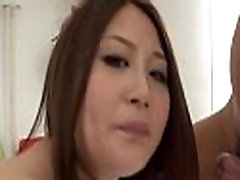 Warch asian sluts share one penis