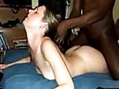 Homemade Interracial Cuckold Wives Take BBC Compilation