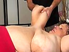 Russian mature tits grabbed by young boy