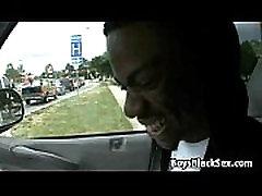 Blacks On Boys - www sexreaf Bareback Interracial Fuck Scene 17