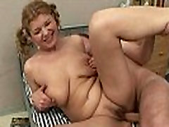 Chubby really sorry mature fucking young guy not her son very long till cumshot