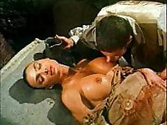 Vintage porn lillyxxx in liliy xxx with Venere Bianca fucked in historic dress