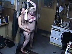 Red Cheeks, Caned Tits, and CHAIN Noose Hangfuck PREVIEW