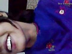 Indian cute sister having fun with jiju & boobs beautiful nipples pressed