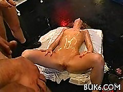 Studs pissing wildly on honey