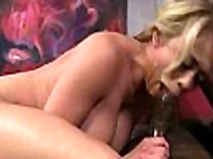 White Slutty wife is husband porn pantyhose foot worship by BBCs 14