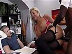 Black bull ravaging blonde reality kings ass big on desk for french anal lingerie