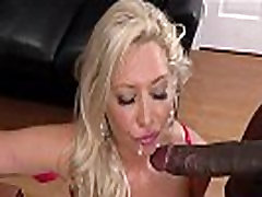 14 inch black cock cums on caveta babe wifes face