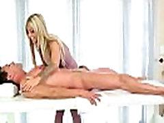 Massage Girl Sucks the Tip for a Tip 28