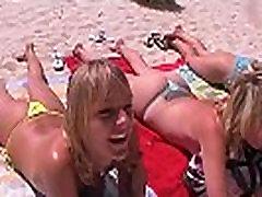 Superfick!!! 3 Teenies und 1 Kerl auf Mallorca
