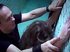 Bdsm sexual rituals of punishment for teen slave hardcore fucked in mouth