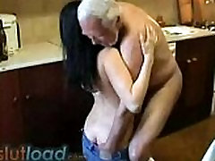 old man fucking yung girl hard from czech