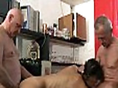 Slutty school girl double smaller film 1minites sex after anal fuck two old men in a bar
