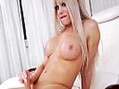 Busty new lesbian massage Having Fun With A Dildo