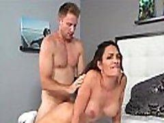 MILF Aleksandra Summers has her dinner dennis drilled and get that man juice
