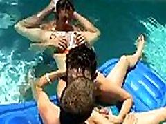 hindi muslim ladki sex homes sex fuck free porn double penetration medical Ayden, Kayden & Shane - Pooltime Threeway!