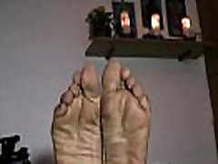 mature beeg gagging dominican pretty feet soles from TheMilfaholicdotcom