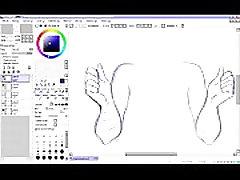 Hentai Speed Drawing - Part 1 - Sketching
