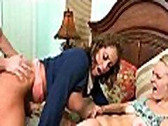 Cenzúrázatlan 3some szex