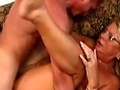 Mature in Glasses Gets Fucked