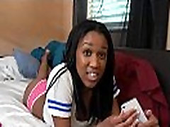 Busty black cutie likes to fuck