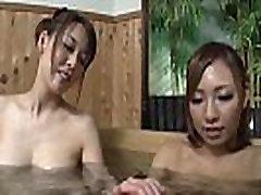 Naked girls bath pool voyeured
